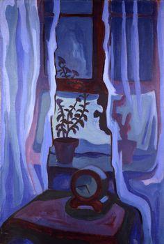 Karl Schmidt-Rottluff (German, 1884 - 1976)  Blue Window (Blaues Fenster), N/D
