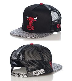 NEW ERA ELEPHANT CHICAGO BULLS NBA STRAPBACK CAP-aVQmhCZ7