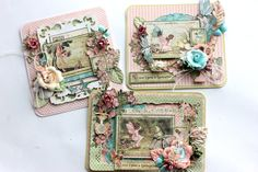 Fairy Card set using Once Upon a Springtime by Elena #graphic45