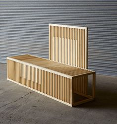 -Claroscuro- bench by Liliana Ovalle