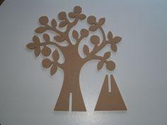 Bestel uw doopsuikerboom of presentatieboom in MDF. Hobbies And Crafts, Diy And Crafts, Crafts For Kids, Arts And Crafts, Origami Paper Art, Paper Crafting, Pista Shell Crafts, Tree Day, Tree Artwork