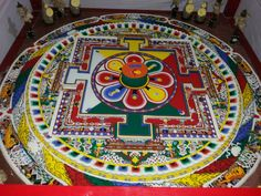 An Art work in Monastery...
