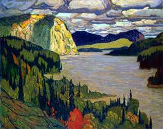 GP7 -- James Edward Hervey MacDonald, painter (b at Durham, Eng 12 May 1873; d at Toronto 26 Nov 1932). Among the Group of Seven, of which he was a founder, J.E.H.
