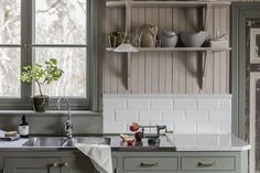 Home Decor Styles .Home Decor Styles Country Kitchen Flooring, Country Dining Rooms, Kitchen Decor, Kitchen Design, Kitchen Shelves, Kitchen Ideas, Luxury Home Decor, Cheap Home Decor, Cottage Kitchens