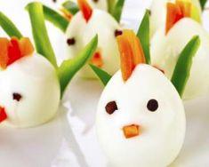 Fun food avec des oeufs cuisine cr ative pour enfants - Comment faire des oeufs de paques decoratifs ...