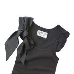 Sale women bow top black retro romantic by tratgirl valentino inspiration