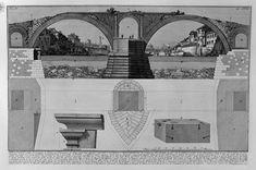 Il Ponte Fabricio in una incisione di Giovanni Battista Piranesi 1756