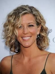 short curly hairstyles for older women - Google Search