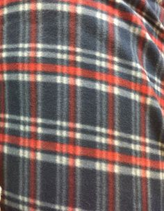 Plaid Print Polar Fleece Fabric by the yard Fleece Fabric, Knitted Fabric, Polar Fleece, Yard, Knitting, Crafts, Products, Manualidades, Tricot