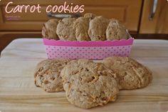 ¿Merendamos?  Carrot cookies {Galletas de zanahoria}  #carrotcookies #cocinandoparamiscachorritos http://blgs.co/qq00dG