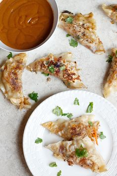 An incredible mix with ground pork fills these completely amazing pot-stickers! Dipping them in Peanut Sauce takes them over the...