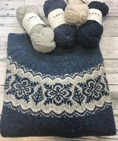Fair Isle Knitting Patterns, Fair Isle Pattern, Knitting Stitches, Knit Patterns, Crochet Cross, Knit Crochet, Knitting Projects, Crochet Projects, Yarn Crafts