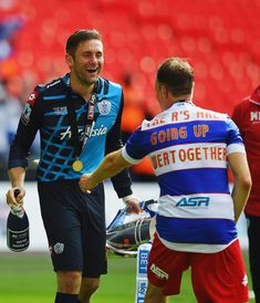 Clint Hill Photos: Derby County v Queens Park Rangers - Sky Bet Championship Playoff Final