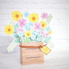 Yuk Bikin Flowers Box Card Sendiri! > Do it yourself | club.iyaa.com