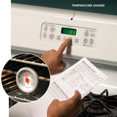 Recalibrate Your Oven Temperature Setting - Appliance Care and Maintenance Tips to Make Appliances Last: http://www.familyhandyman.com/appliance-repair/appliance-care-and-maintenance-tips-to-make-appliances-last#3
