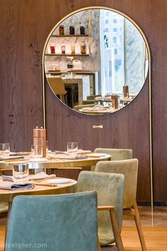 Mökki by Blacksheep: A Curated Dining Experience at the Ritz-Carlton Astana Hotels And Resorts, Architecture Details, Oversized Mirror, Dining, Luxury, Gallery, Interior, Kazakhstan, Pictures