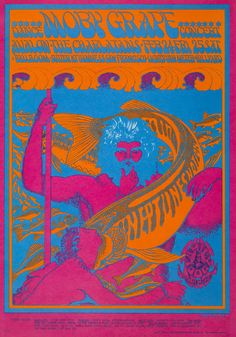 Neptune's Notion by Victor Moscoso. Made in 1967.
