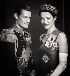 Matt Smith and Claire Foy as Prince Phillip and Queen Elizabeth II in Season 2 of The Crown The Crown Elizabeth, Elizabeth Ii, Best Series, Best Tv Shows, Matt Smith The Crown, The Crown Season 2, Crown Quotes, Crown Tv, The Crown Series