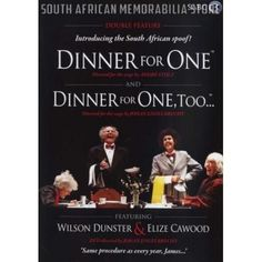 Dinner For One / Dinner For One, Too - Elize Cawood - South African DVD *New* - South African Memorabilia Store