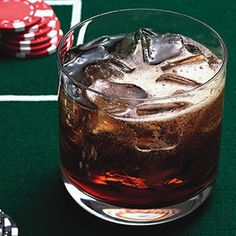 The Black Jack will sweeten up your day #whiskey #vanilla | http://www.rachaelraymag.com/Recipes/rachael-ray-magazine-recipe-search/drink-cocktail-recipes/the-black-jack