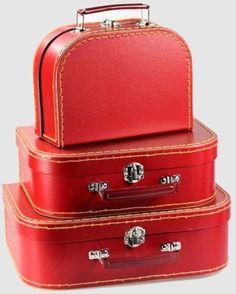 Pink Euro Suitcase Set of 3 | Euro