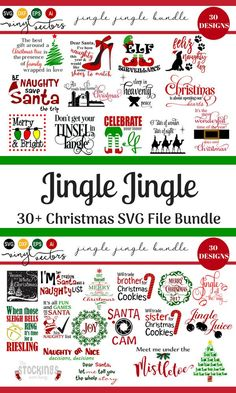 Jingle Jingle SVG Fi