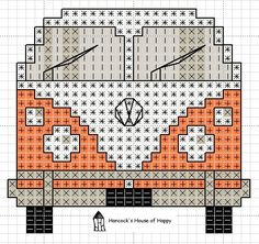 hancock's house of happy: Groovy! This VW Van Cross Stitch Chart Invites You to…