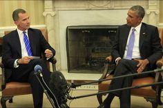 King Felipe met with President Barak Obama, on September 15, 2015