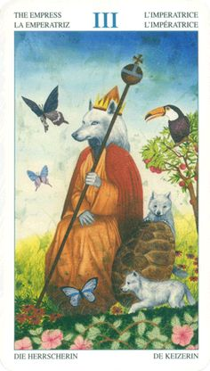 TAROT OF THE ANIMAL LORDS III the Empress