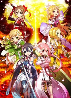 Yuki Yuna Is a Hero TV Anime's 2nd Season Premieres in October