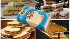Ak máte doma 1 balík tortových oblátok, toto skúste: 13 receptov na bezkonkurenčné vianočné dezerty, ktoré rýchlo pripravíte! Ice Cream Candy, Czech Recipes, No Bake Cake, Cake Cookies, Tiramisu, Kefir, Bread, Desserts, Food