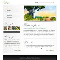 Art Dealers HTML Template - 6235 - Art & Photography - Website Templates - DreamTemplate