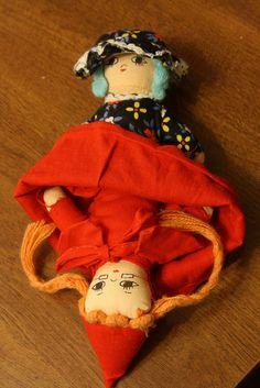 OMG! I thought I was the only one to have one of these. Little Red Riding Hood Doll