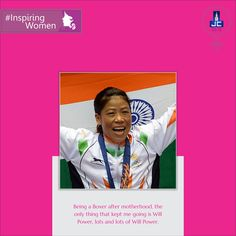 A Five Time world amateur boxing champion, Mary Kom is an #InspiringWomen who never let #motherhood hinder her passion for boxing. JAYCEE HOMES salutes you for being an inspiration for all the women around the world and spreading the message of establishing yourself as an individual.