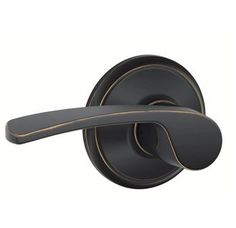 View the Schlage F10-MER Merano Passage Door Lever Set with Plymouth Trim at Handlesets.com.