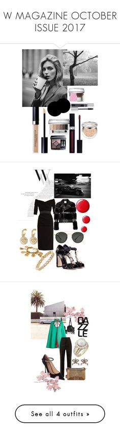 W MAGAZINE OCTOBER ISSUE 2017 by andreamartin24601 on Polyvore featuring polyvore, fashion, style, Christian Dior, Anja, Wall Pops!, clothing, Balenciaga, Dolce&Gabbana, Ray-Ban, Sydney Evan, Chanel, Noir Kei Ninomiya, Alexander McQueen, Topshop, Versace, La Perla, Gucci, Maison Margiela, Van Cleef & Arpels, Le Kasha, AG Adriano Goldschmied, Prada, Gianvito Rossi and Bloomingdale's