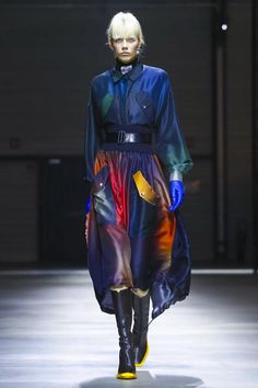 Kenzo Fashion Show Menswear Collection Fall Winter 2017 in Paris