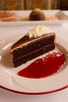 Wine Train's Chocolate Cake