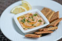 Paleo Hummus 01 -- This one uses almond butter with the cauliflower and does not require roasting anything.