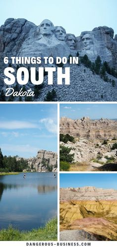Have you always wanted to visit Mount Rushmore in South Dakota? Plan your vacation now and get inspired with these 6 Reasons Why You Should Definitely Visit South Dakota. There are so many things to do in South Dakota. Here are the best things to do to put on your bucket list. #southdakota #usa #blackhills #travel Best Vacation Spots, Best Vacations, Usa Travel, Amusement Parks In Florida, South Dakota Travel, Custer State Park, Badlands National Park, Visit California, Family Road Trips