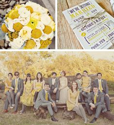 Mustard | Color Palette | Lake Tahoe Wedding Inspiration | Lake Tahoe Weddings with Tahoe Unveiled