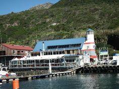 Hout Bay: Parte occidentale del porto