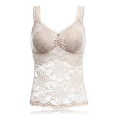 067aa83a9c Women Sexy Cozy Wireless Floral Printing Lace Vest Tops Sleeping Bras