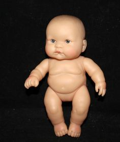 "CUTE 8"" CHUBBY BERENGUER BABY DOLL for reborn or play"