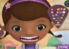 DoctoraJuguetesJuegos.com - Juego: Dentista Doctora Juguetes - Minijuegos de Doc Juguetes Disney Jugar Gratis Online