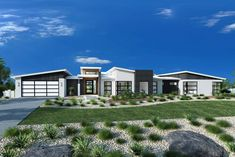 Rochedale, Home Designs in Melbourne NW - Essendon Modern House Plans, Modern House Design, Custom Home Designs, Custom Homes, Acerage Homes, Office Open Plan, Alfresco Area, Facade House, House Exteriors