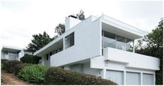 Rudolph Schindler's McAlmon House, Silver Lake area of Los Angeles ...