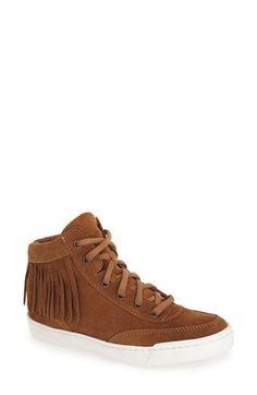 Steve Madden High Top Fringe Sneaker (Women) available at #Nordstrom