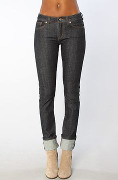 The Mid Slim Straight Stretch Selvedge Jean by Naked