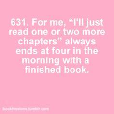 I love it when I find a book so good I can't put it down!